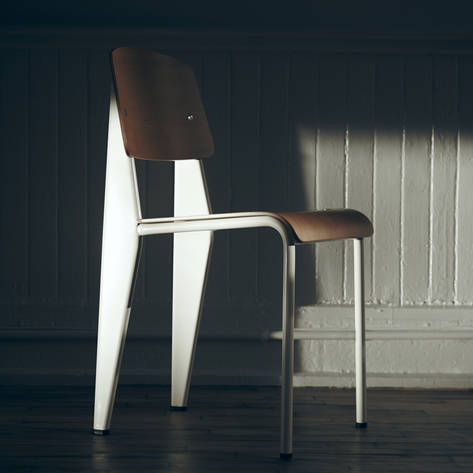 Standard Chair, Design by Jean Prouve, Vitra - 2002 edition