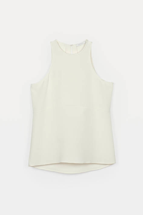Protagonist — Tank 01, 4-Ply Silk Crepe - Ivory