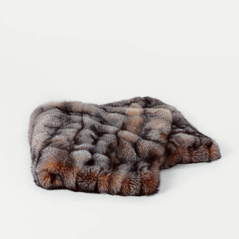Area ID — Fox Fur Throw - Crystal