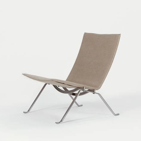 Fritz Hansen — PK22 Lounge Chair - Natural Canvas