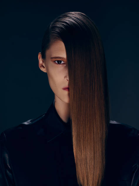 Look 3: Inverted Pony, Straight