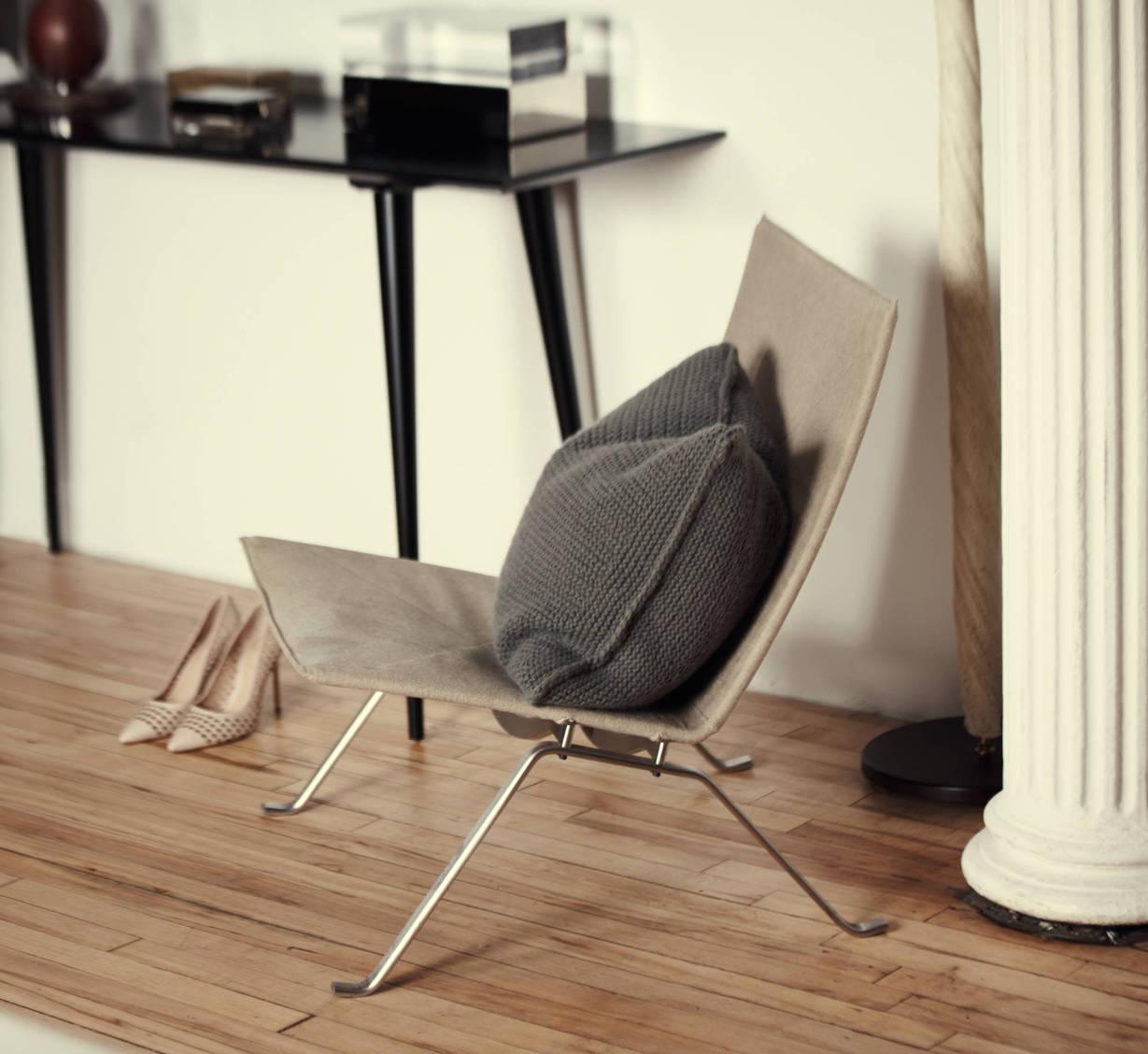 Fritz Hansen PK22 Lounge Chair, Reed Krakoff Perforated Leather Pointed Toe  Bionic Academy Pump, Flair Ice Box, M|n Originals Custom Maxim Console. U201c