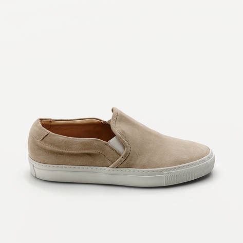 Woman by Common Projects — Slip-On in Suede - Off-White