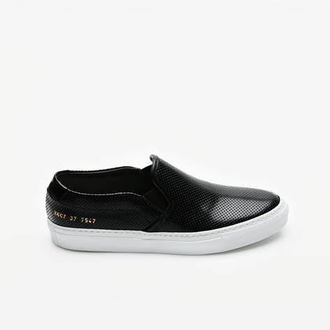 Woman by Common Projects — Slip On Perforated  - Black