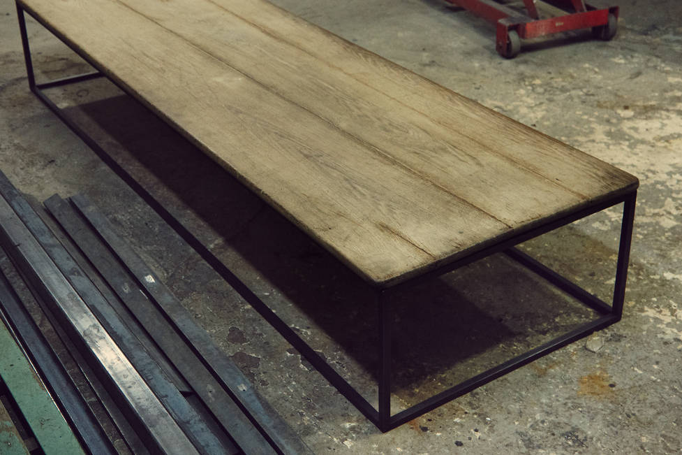 Jonathan Burden Reclaimed Wood Low Table