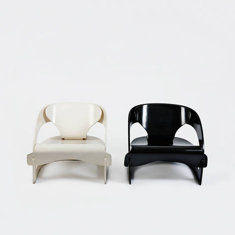 The Warehouse — Pair of Model 4801 Chairs by Joe Colombo