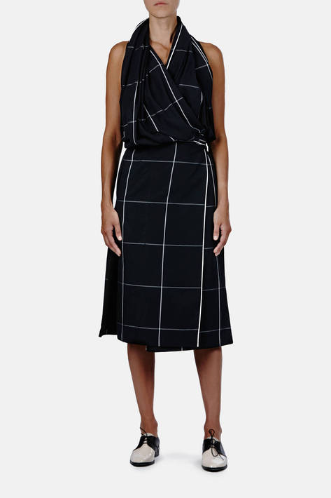 Lemaire — Wrapover Dress