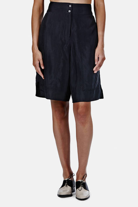 Lemaire — Long Shorts - Midnight Blue