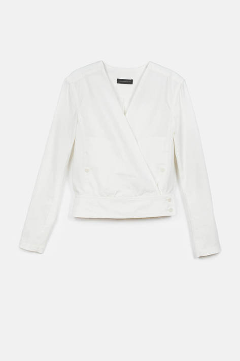 Lemaire — Wrapover Overshirt