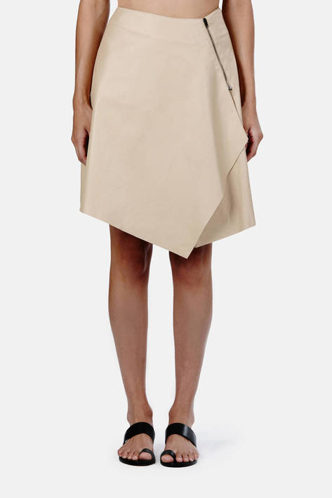 Reed Krakoff — Skirt with Side Flounce