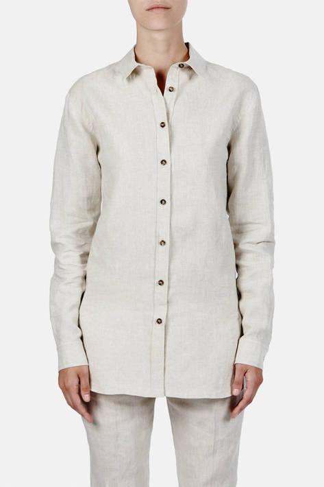 Toteme — Montauk Shirt - Raw Linen