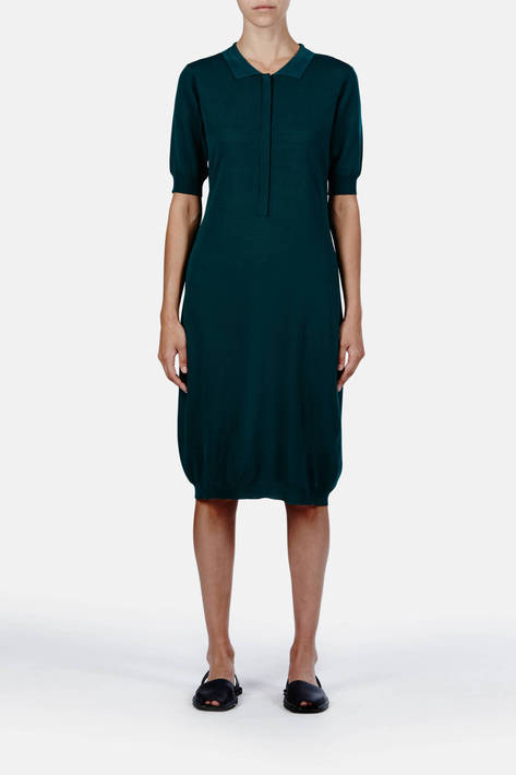 Toteme — Antwerp Dress - Botanical Green