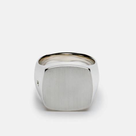 Tom Wood — Cushion Ring, Satin
