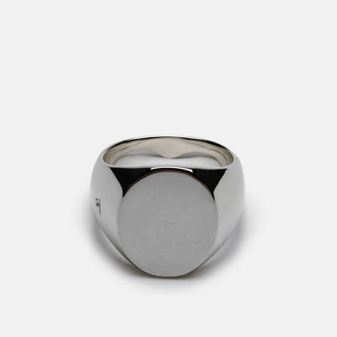 Tom Wood — Oval Ring, Polished