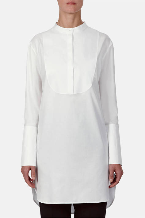 Protagonist — Tunic 01, Shirting - White