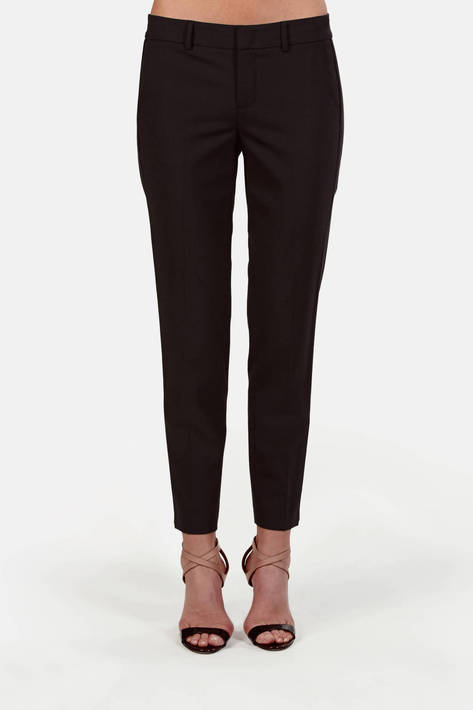 Vince — Tropical Wool Side Strapping Pant
