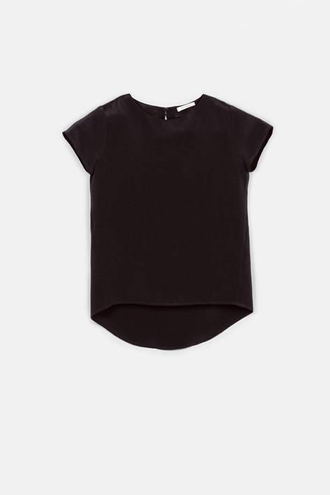 Protagonist — T-Shirt 01, 4-Ply Silk Crepe - Black