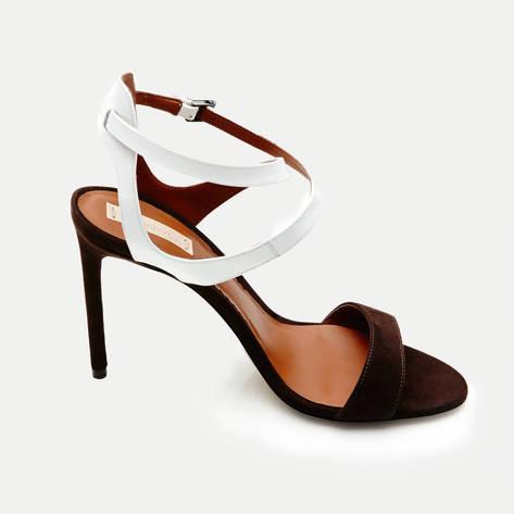 Reed Krakoff — Ankle Harness Sandal - Bark White