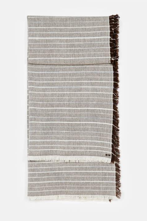 Melt — Bikram Stripes Handspun Scarf