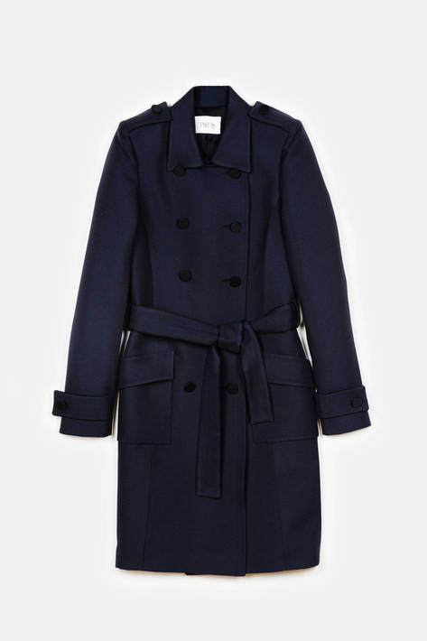 Pallas — Vulcain Trench Coat - Marine