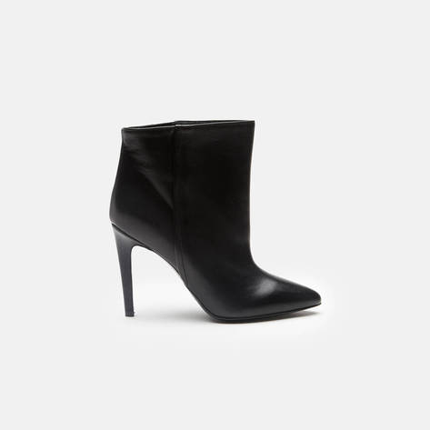 Woman by Common Projects — High Heel Bootie - Black