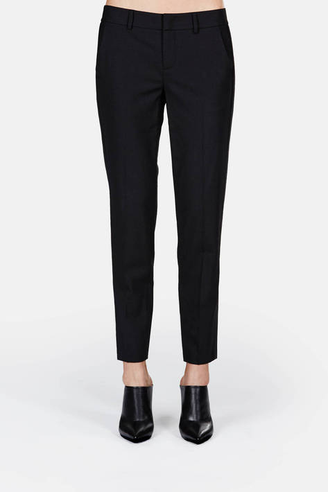 Vince — Side Strapping Pant - Black