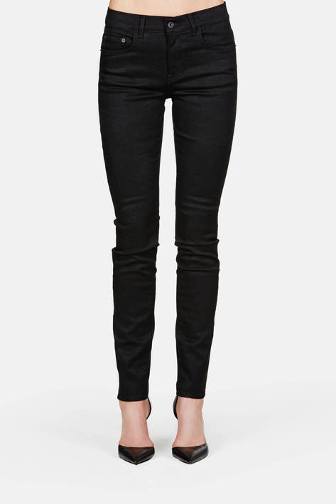 Proenza Schouler — PS-J2 High Waist Skinny Jean - Black