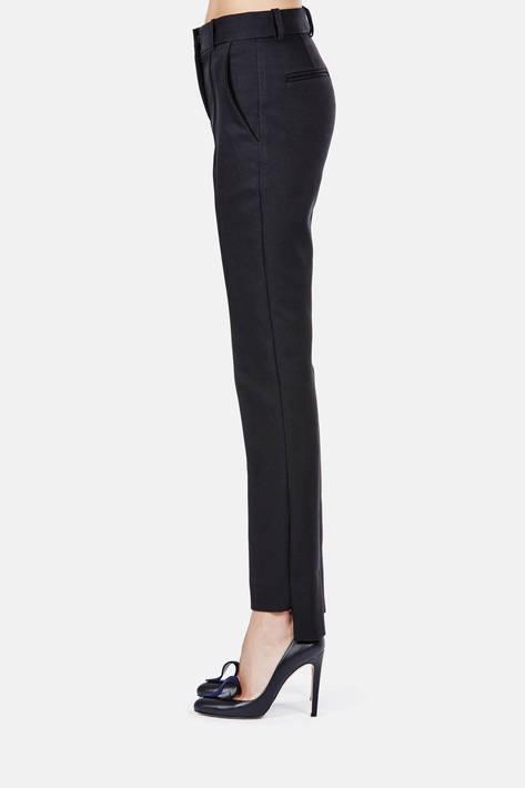 Protagonist — Trouser 01 Cigarette Zip Trouser - Black
