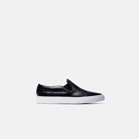 Woman by Common Projects — Slip-On - Smooth Black