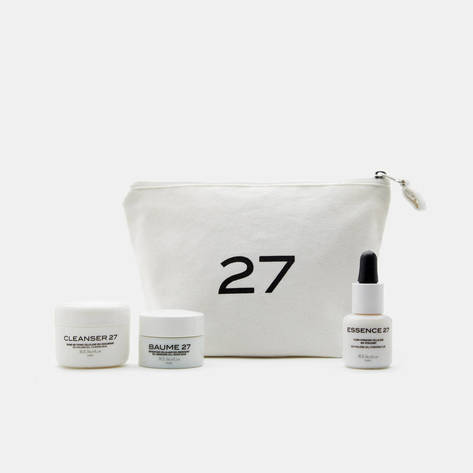 M.E. Skin Lab — Travel Set - Baume 27, Cleanser 27, Essence 27