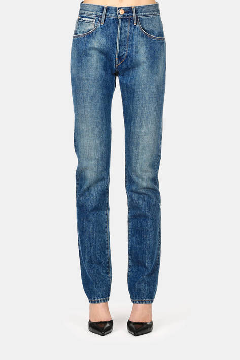 3 x 1 — 3 x 1 x The Line 5-Pocket High-Rise Jean - Allen Wash