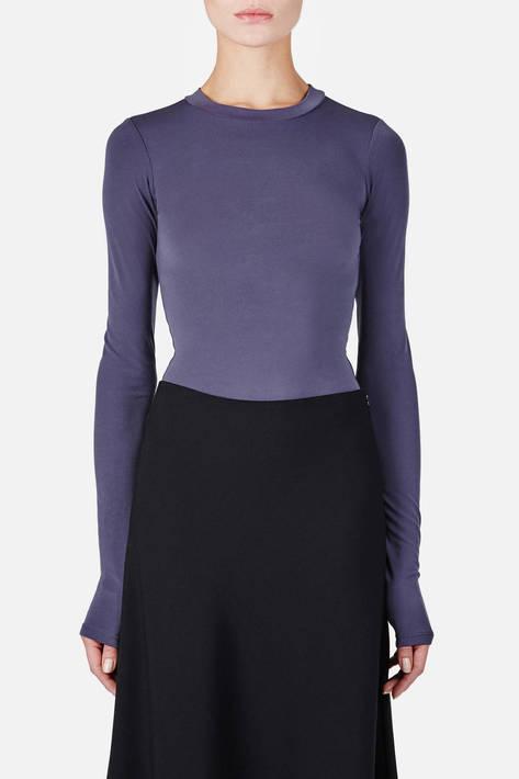Protagonist — Bodysuit 02 Extended Sleeve Bodysuit - Blue/Grey