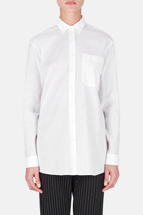 ATM Anthony Thomas Melillo — Classic Boyfriend Shirt - White