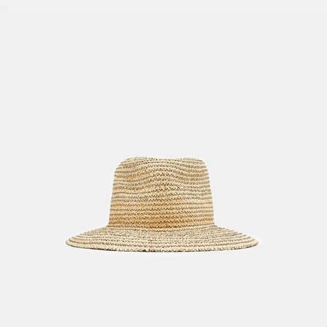 Albertus Swanepoel — Calais Hat - Natural w/Black