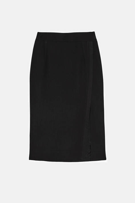 Pallas — Isis Slit Skirt - Noir