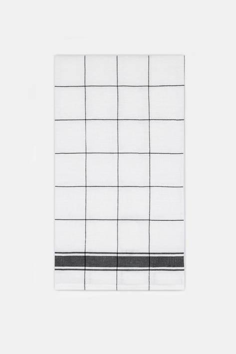 Libeco — Parma Tea-Towel - Black