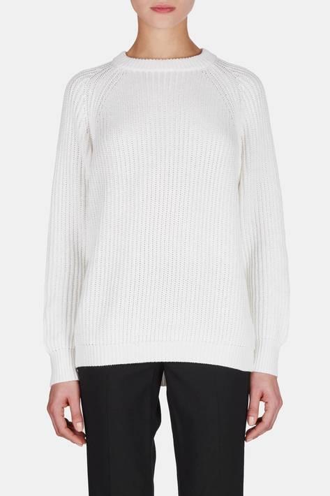 6397 — Raglan Crewneck - Washed White