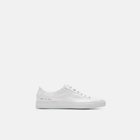 Woman by Common Projects — Common Projects x 6397 Sneaker - White/White