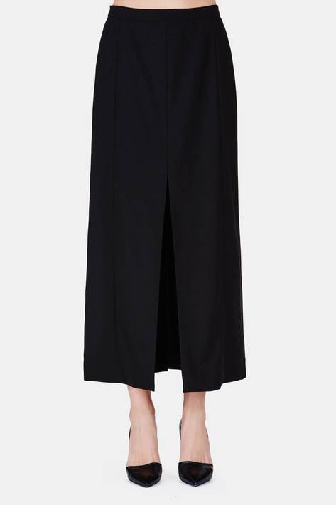Protagonist — Skirt 11 Double Split Skirt - Black