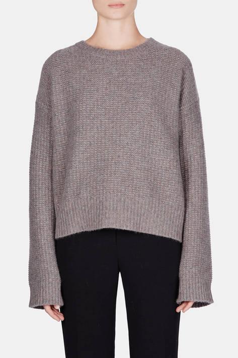 Protagonist — Sweater 03 Seed Stitch Sweater - Slate