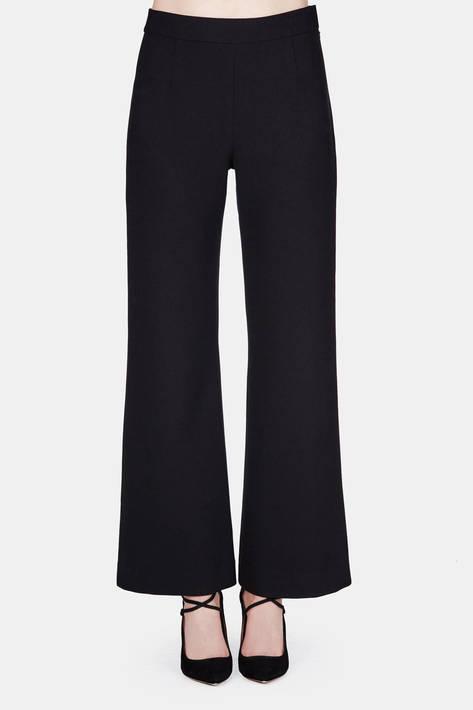 Protagonist — Trouser 11 Wide Leg Kick Trouser - Black