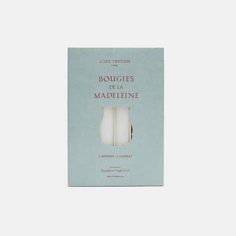 Cire Trudon — Dripless and Smokeless Unscented Tapers - White