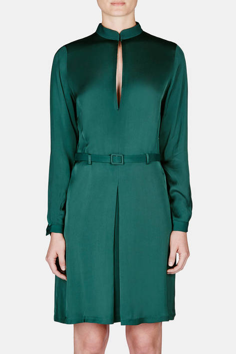 Toteme — Murau Dress - Emerald Green