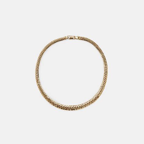 Camilla Dietz Bergeron — Gold Choker Necklace