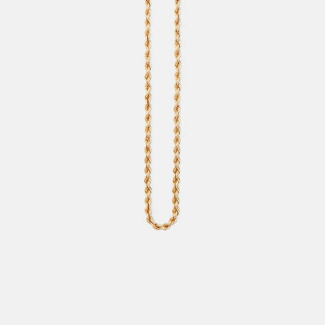 Camilla Dietz Bergeron — Gold Rope Style Chain Necklace