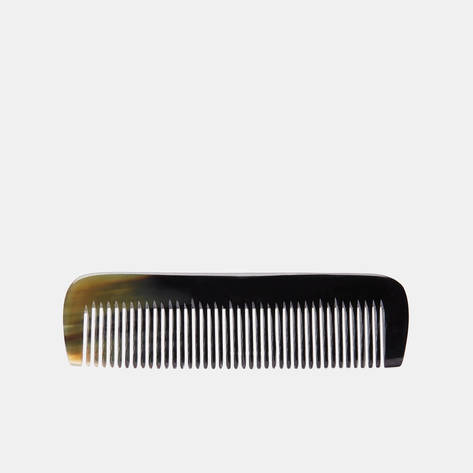 Redecker — Natural Horn Small Toothed Comb
