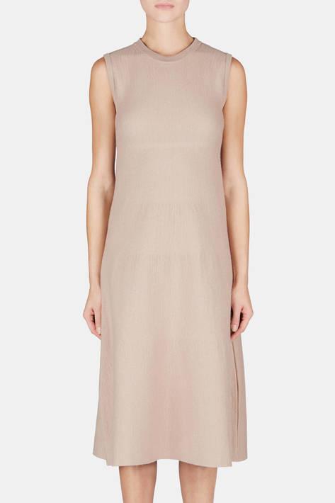 Calvin Klein Collection — Felted Dress - Oak