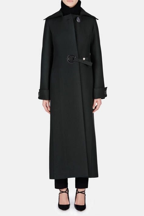 Calvin Klein Collection — Coat - Forest