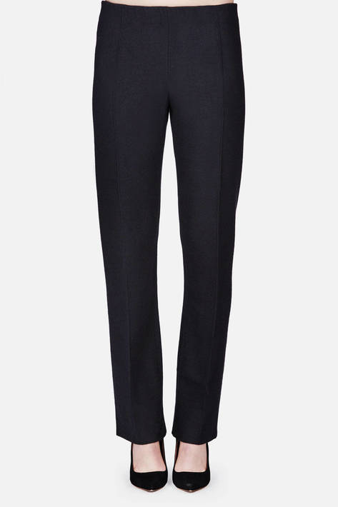 Calvin Klein Collection — Felted Pant - Black