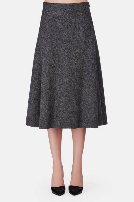 Protagonist — Skirt 08 Flare Skirt - Charcoal